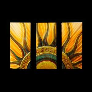 Sun Triptych